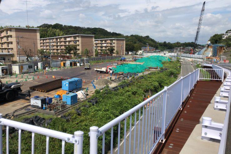 横浜環状南線工事