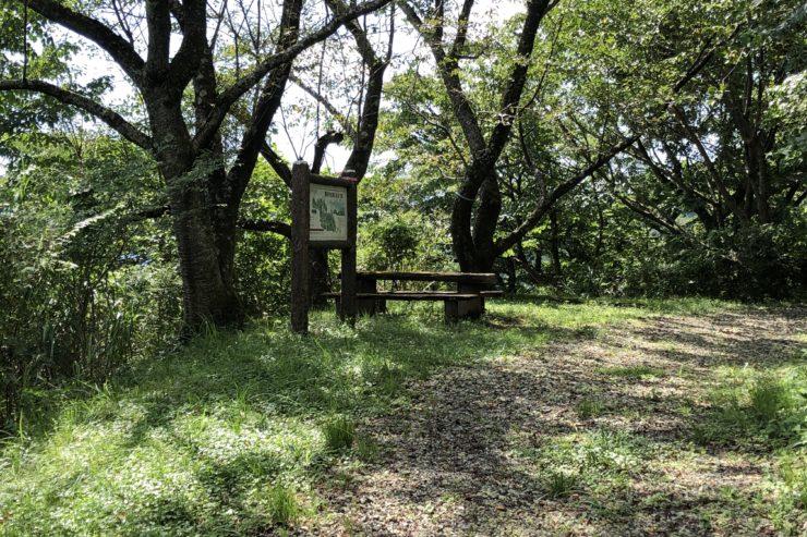 最明寺史跡公園展望台