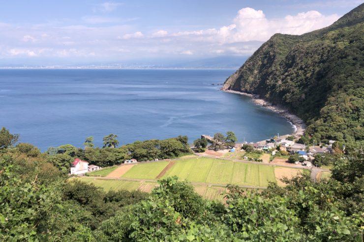 煌めきの丘からの景色