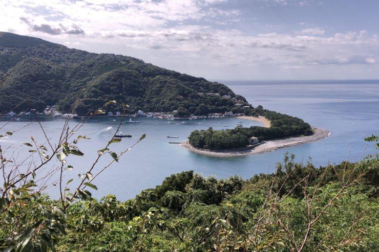 出逢い岬からの景色