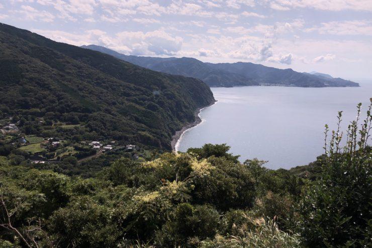 碧の丘からの景色