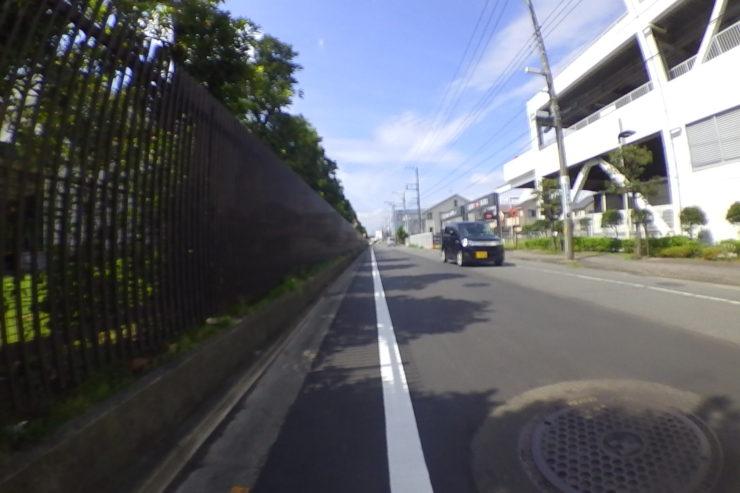平塚の裏道