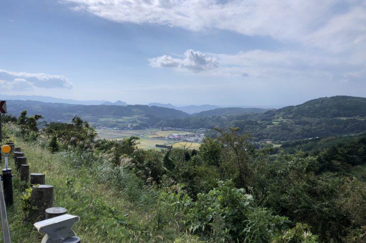 伊豆11号線からの眺め