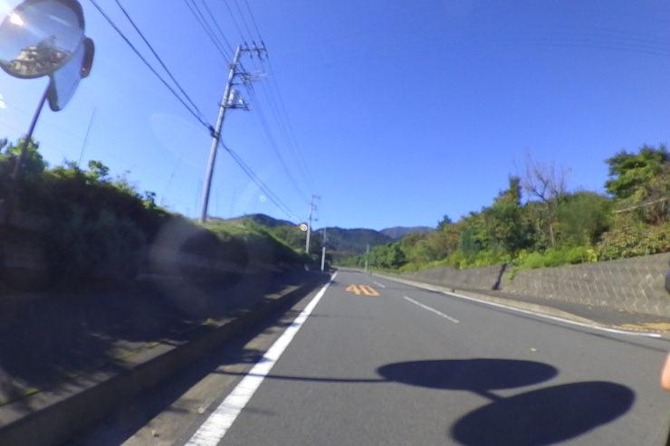 秦野戸川公園への道