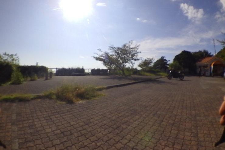 夕日ヶ丘の展望広場