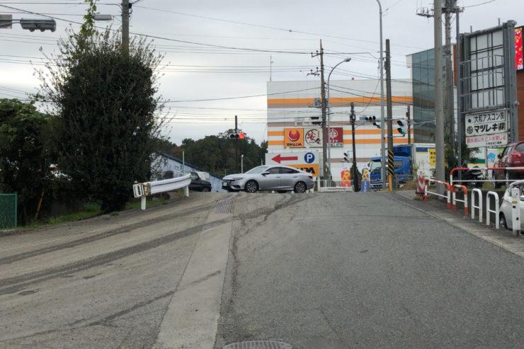 境川と246号線の交差