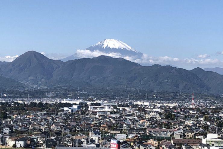 めがね道からの富士山