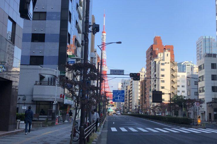 東京タワーのある景色