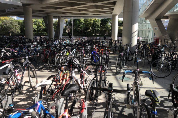 サイクルモード駐輪場