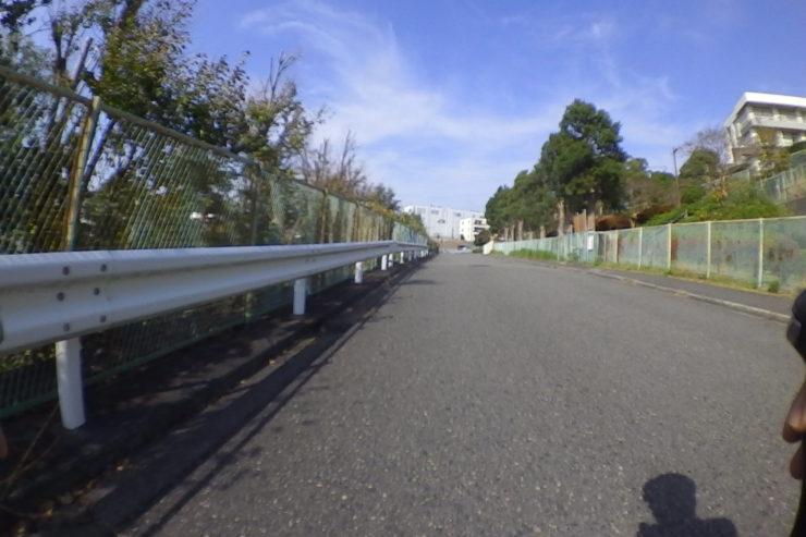 矢部高校への道