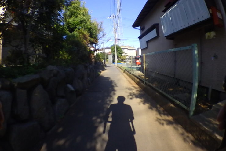 小田原市街の住宅地
