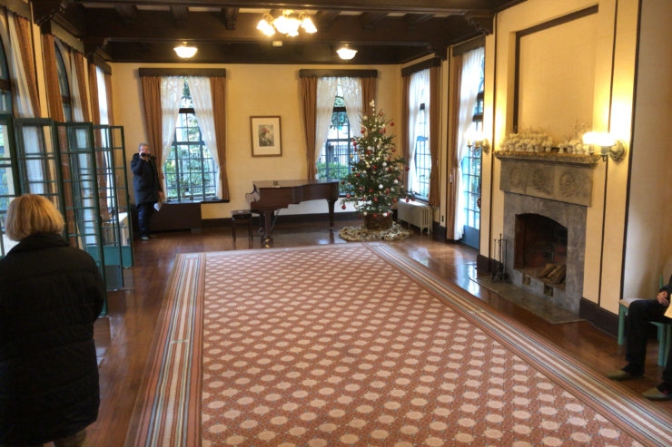ベーリック・ホールのクリスマス