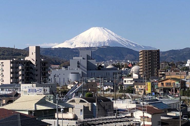 秦野と富士山