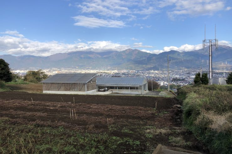 弘法山方面