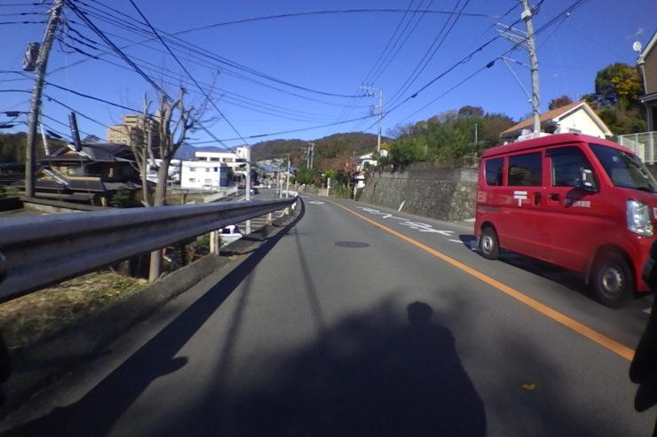 秦野への道