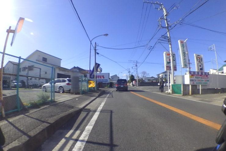 秦野駅近く