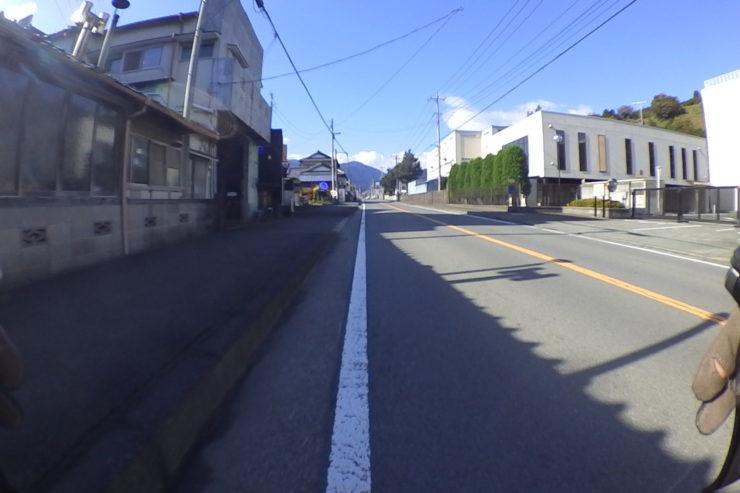 山北町の裏道