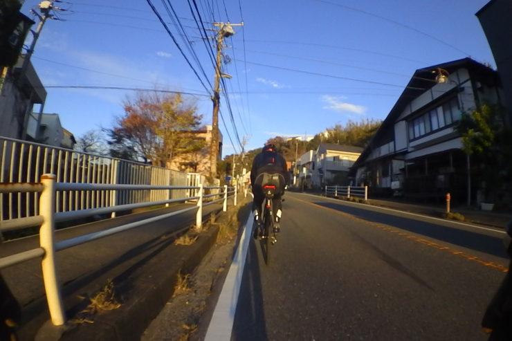 西鎌倉駅近く