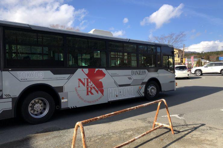 エヴァデザインバス