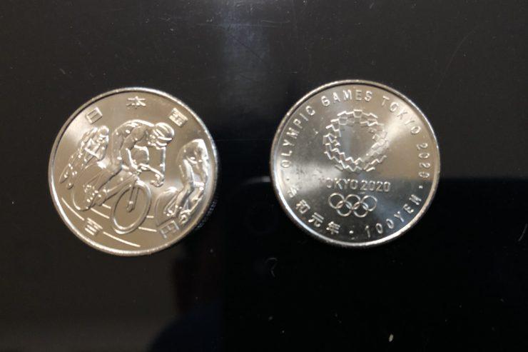 オリンピック記念貨幣自転車競技