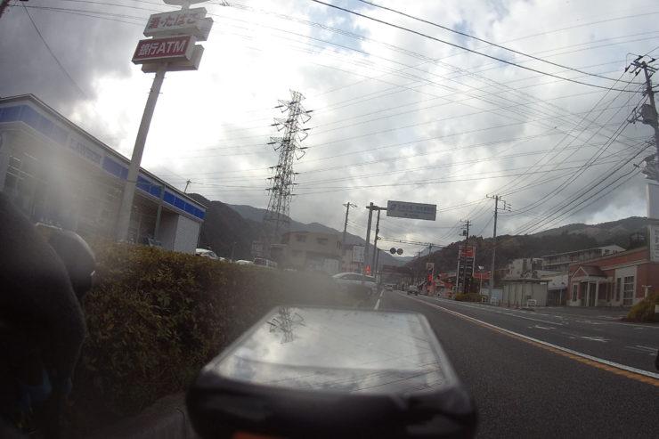 箱根入口のコンビニ