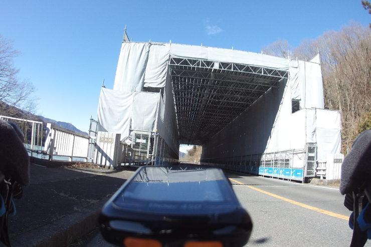 県道64号線の橋