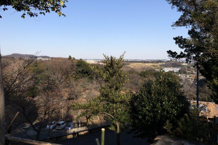 飯山観音長谷寺からの眺め