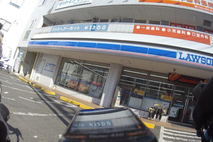 三浦海岸駅近くのコンビニ