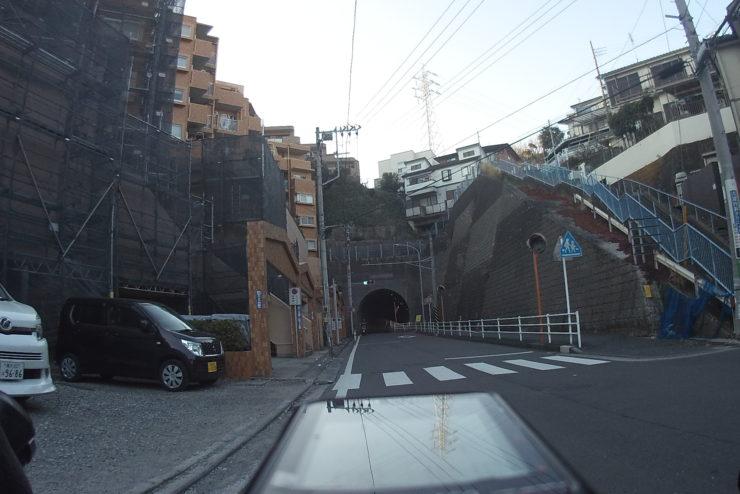 六浦の裏道