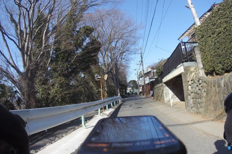愛川町の旧道