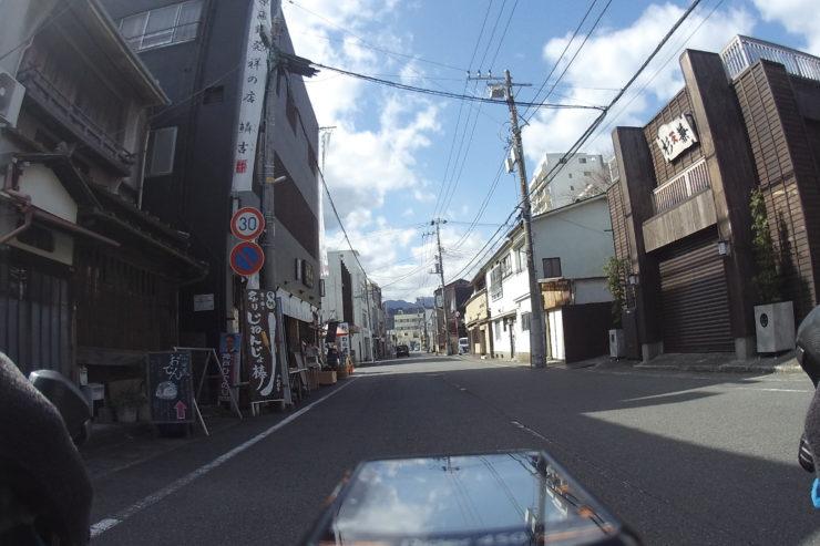 小田原の裏通り