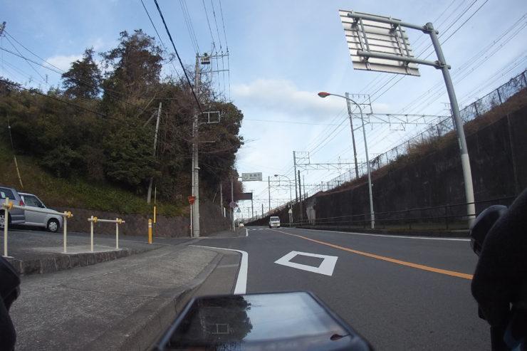 真鶴駅近く