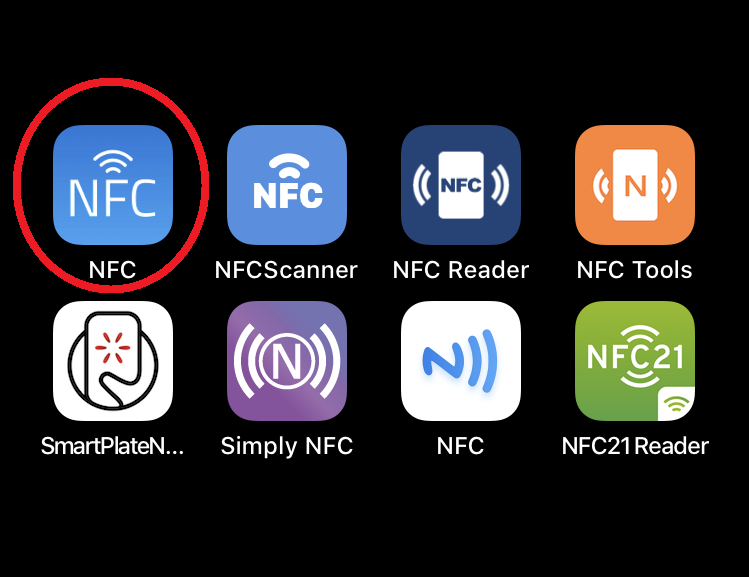 NFCアプリ