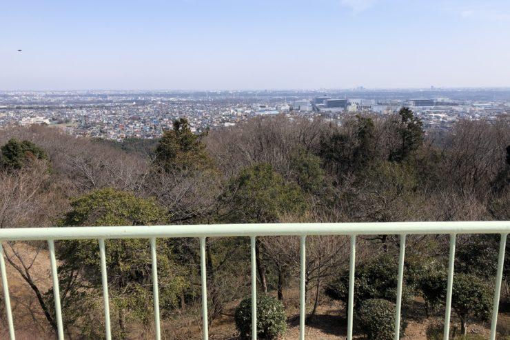 八菅山展望台から