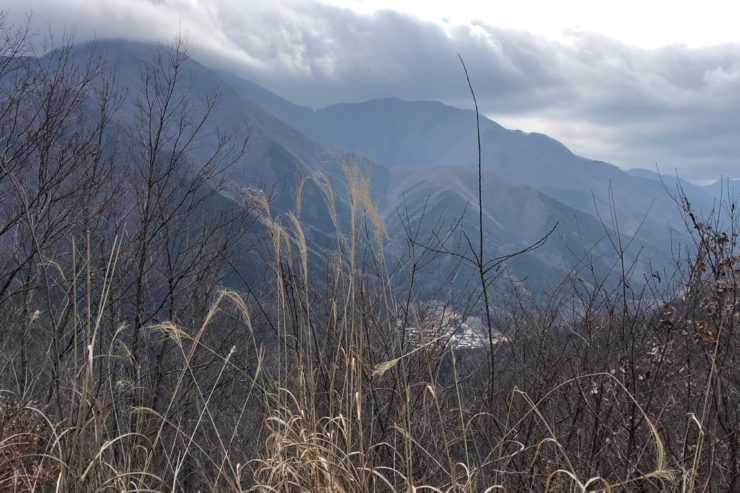 厳道峠の景色