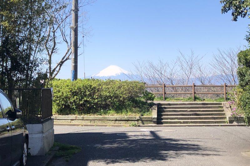 逗子ハイランドの関東の富士見百景