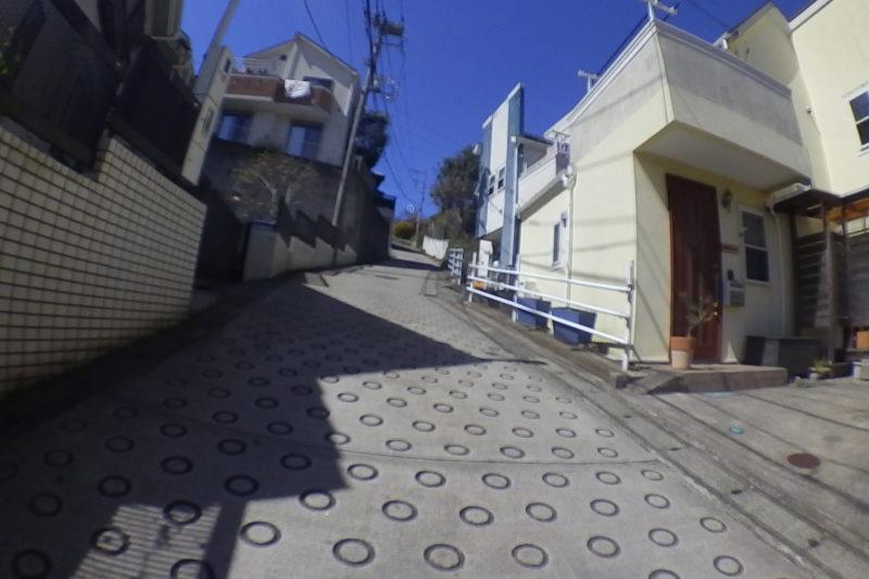小坪の住宅街