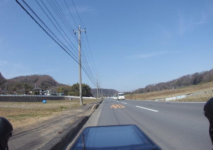 中津川沿い