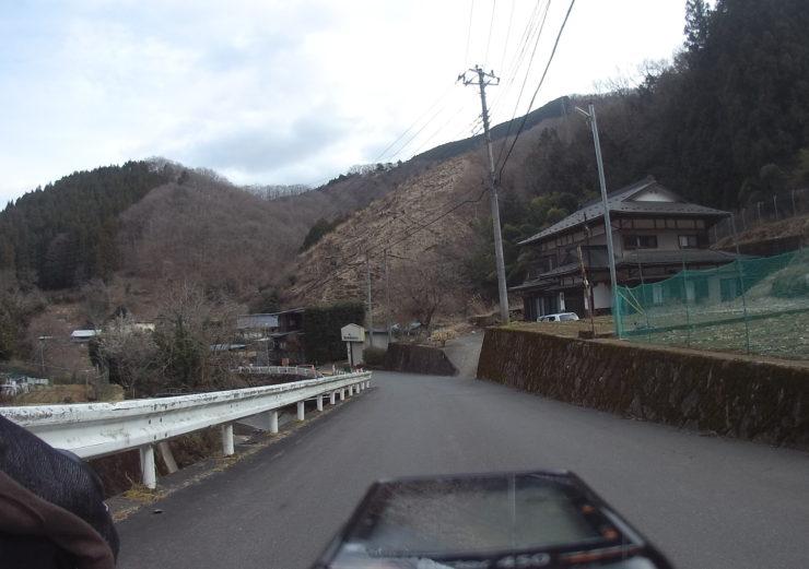 安寺沢林道