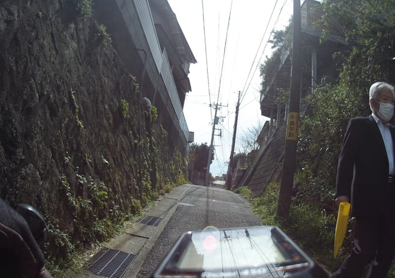横須賀中央の狭い道