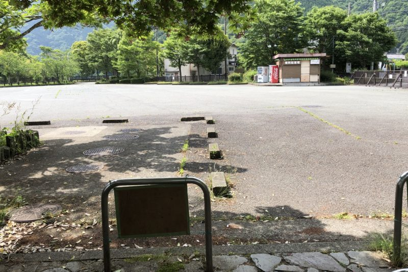 丹沢湖無料駐車場