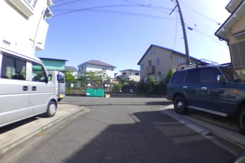 住宅街の袋小路