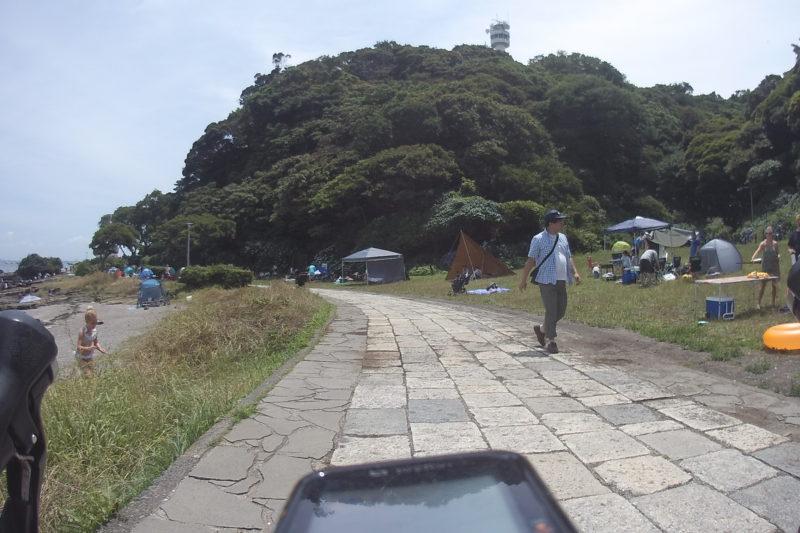 観音崎の遊歩道