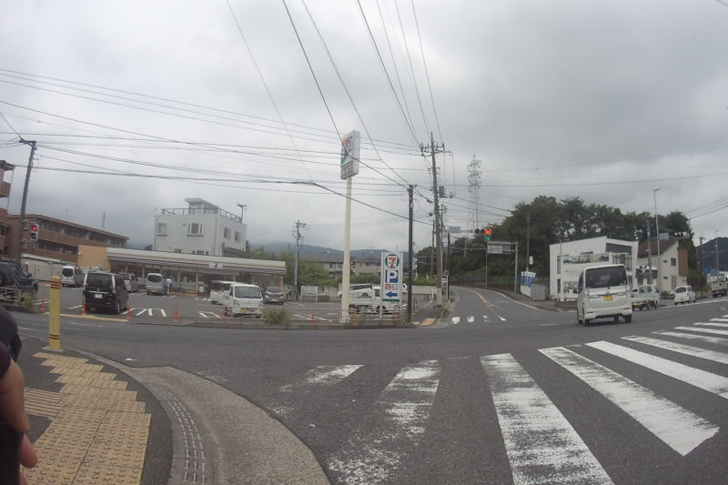 ヤビツ峠スタート地点