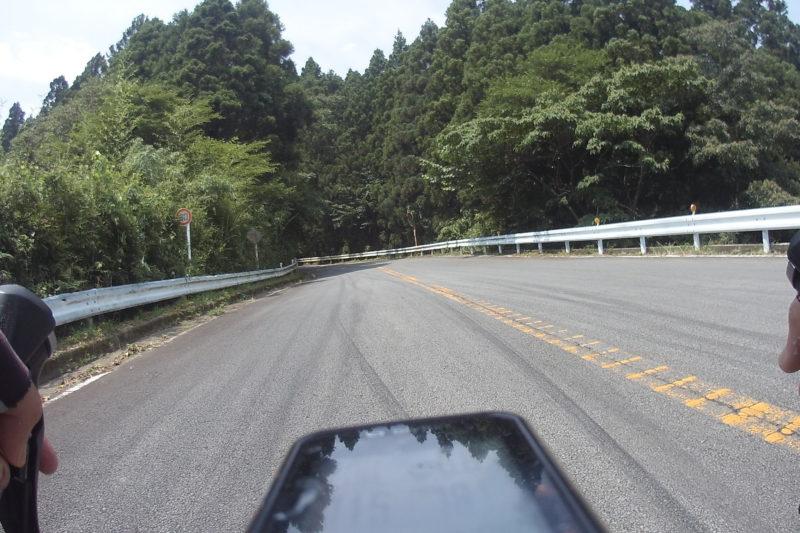 足柄峠への道