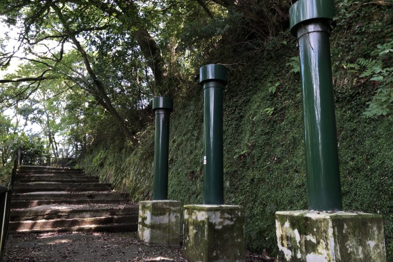堂ヶ島渓谷遊歩道
