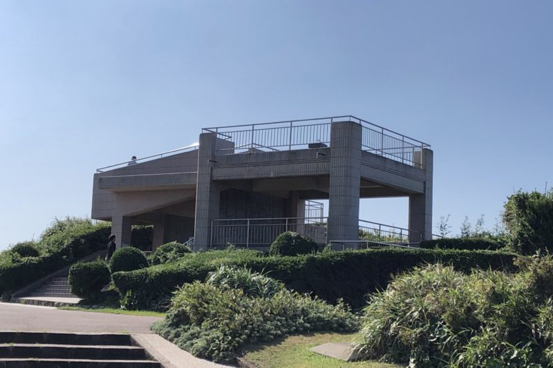 城ヶ島公園の展望台