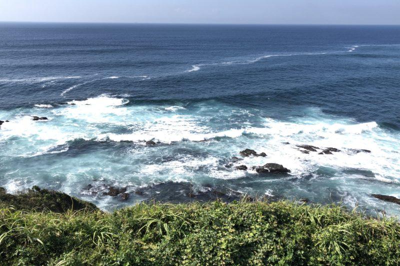 城ヶ島公園からの海の眺め