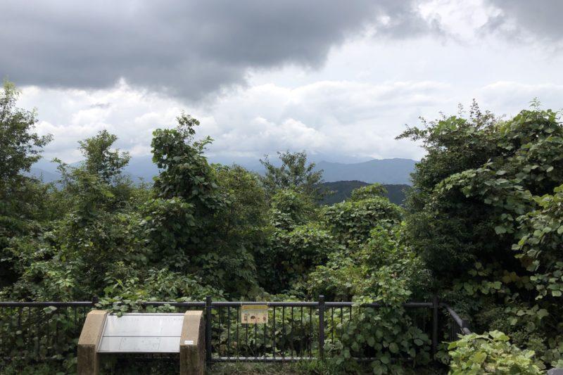 高尾山山頂からの景色