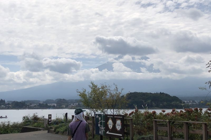 河口湖の立石公園